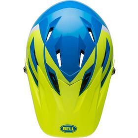 Bell Sanction Cykelhjälm Barn gul/blå